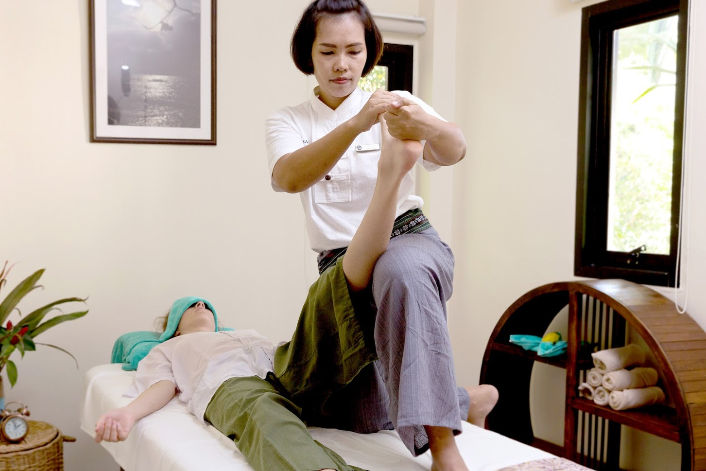 Massage in Samahita Retreat