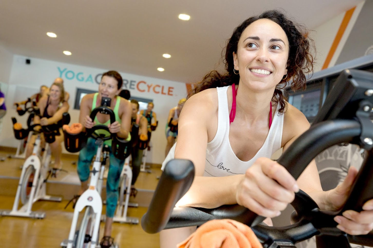 Cycle class in Samahita Retreat