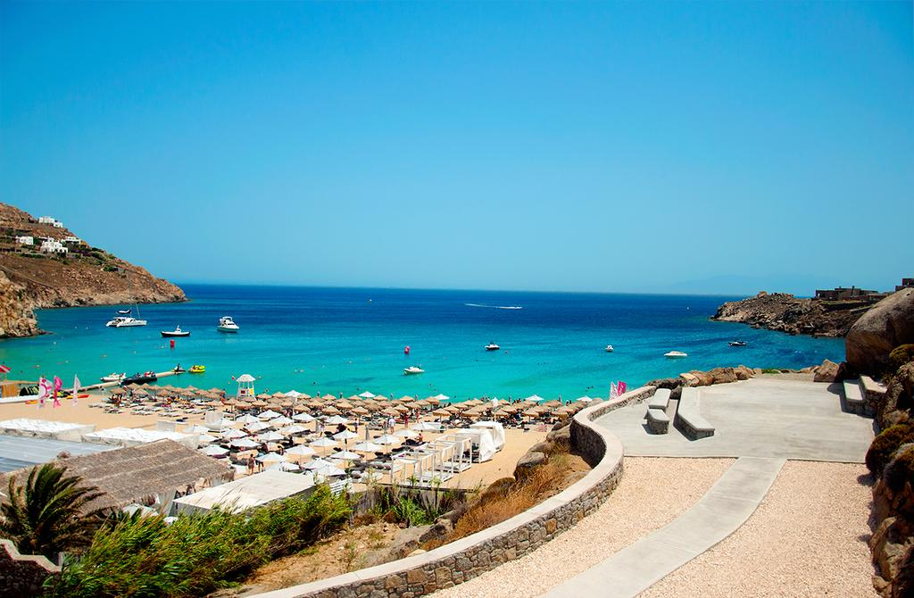 Best Island Beaches For Partying Mykonos St Barts: Athens / Mykonos / Santorini Greece Paradise Discovery (4