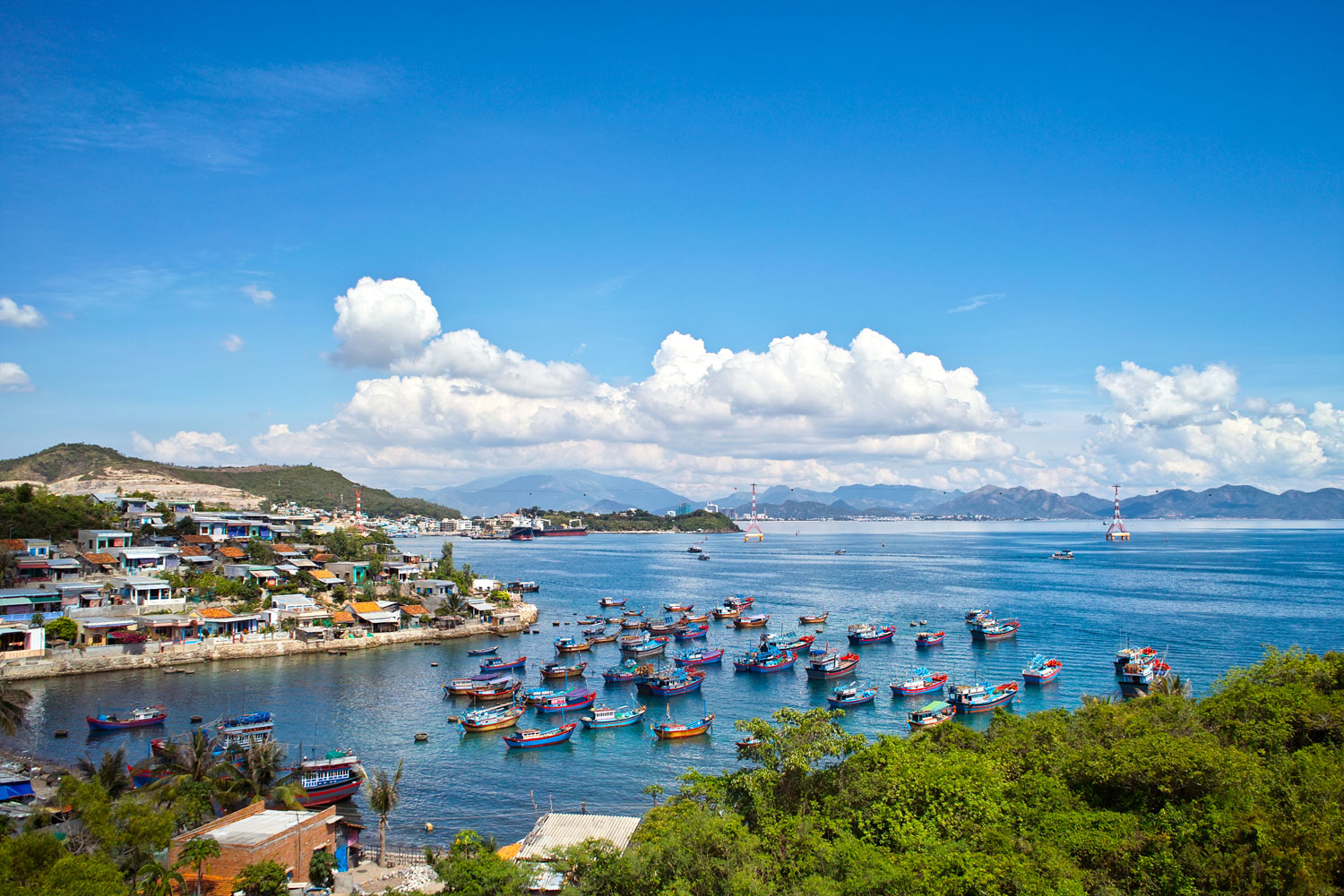 Mieu Island Fishing Village
