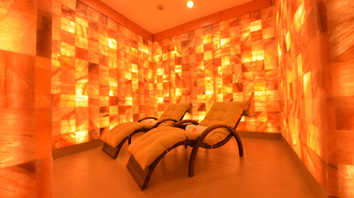 Himalayan Crystal Salt Room (The Orchard's Signature)