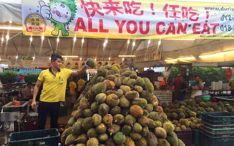 all you can eat durian buffet